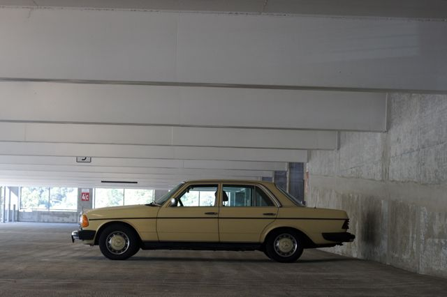 picture of an old 240D